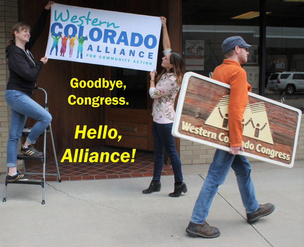 A Name Change: Western Colorado Alliance for Community Action